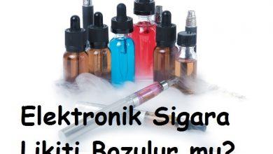 Photo of Elektronik Sigara Likiti Bozulur mu?